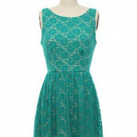 The Zooey Dress in Teal