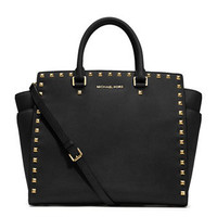 MICHAEL Michael Kors  Large Selma Studded Saffiano Tote