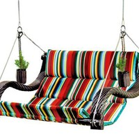 Outback Urban Balance Hanging Expanse Chair with Cup Holders, Stripe:Amazon:Patio, Lawn & Garden