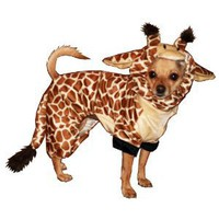 Hip Doggie Giraffe Dog Costume, Onesy Jumper, M