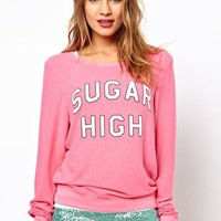 Wildfox Sugar High Baggy Jumper at asos.com
