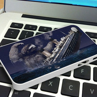 Sloth Slothzilla iPhone 4 iPhone 4S Case