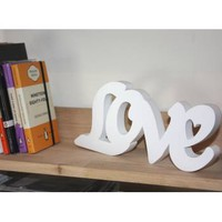 Buy Wooden Free Standing Love Sign