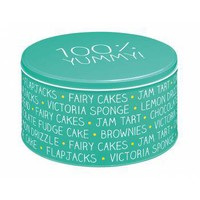 Buy 100% Yummy Cake Storage Tin