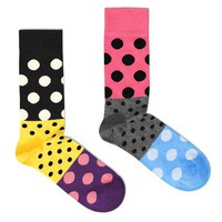 Poketo Split Dots Socks