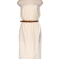 Escape to Napa High Low Dress - Ivory -  $52.00 | Daily Chic Dresses | International Shipping