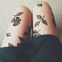 Trendy Printed Tights