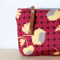 Cosmetic bag, make up bag, mother's day, bridesmaid's gift,