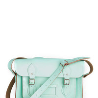 Cambridge Satchel Upwardly Mobile Satchel in Mint - 14&quot; | Mod Retro Vintage Bags | ModCloth.com
