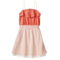 Xhilaration Juniors Strappy Fit and Flare Dress - Assorted Colors