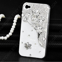 Bling bling bows Ballet girl Flying angel case white by dnnayding