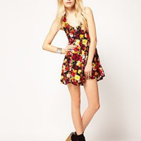 Motel Chery Blossom Dress at asos.com