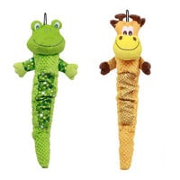 Kyjen: Shakeable Tug Giraffe & Frog, at 46% off!