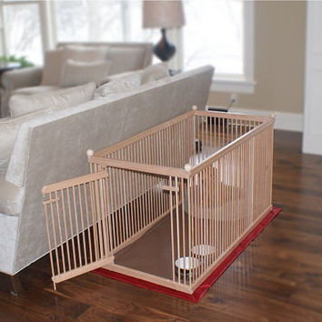 Distinctive Indoor 2'x4' Pet Crate / Exercise Pen  by kennelmaster