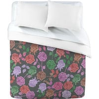 DENY Designs Home Accessories | Bianca Green Roses Vintage Duvet Cover