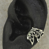 Butterfly Wing Ear Cuff - PAIR -Sterling Silver