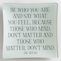 Ben&#x27;s Garden &#x27;Be Who You Are&#x27; Trinket Tray | Nordstrom