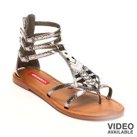 Unionbay Sherman Embellished Gladiator Sandals - Women