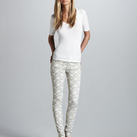 7 For All Mankind - Lace Gummy Skinny Jeans - Bergdorf Goodman