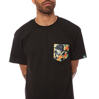 Mighty Healthy The Montalban Pocket Tee in Black : Karmaloop.com - Global Concrete Culture