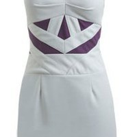 Sweetheart Colorblock Ponte Dress - Women&#x27;s Clothing and Apparel - Chic Dresses, Fashion Tops, Shoes, Bottoms, Denim and Accessories
