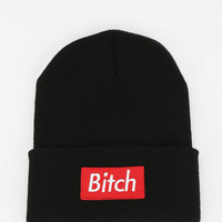 Married To The Mob B*tch Beanie