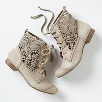 Irene Lace Booties