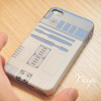 Apple iphone case for iphone iPhone 5 iphone 4 iphone 4s iphone 3Gs : R2D2 Inspired