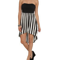 Black High-Low Tube Dress | Shop Sale at Wet Seal