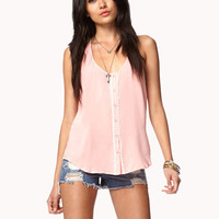 Essential Crochet Back Trapeze Top