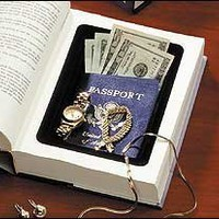 2-Book Safes, Diversion Safe made with a Real Book:Amazon:Home Improvement