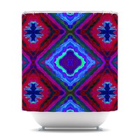 "Nina May ""Kilim"" Shower Curtain 