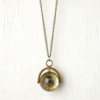 Free People Sapphire Globe Necklace
