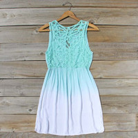 Mint &amp; Ombre Dress, Sweet Women&#x27;s Party Dresses