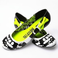 Iron Fist Misfits Flats - Black