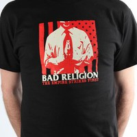 Bad Religion Men's Empire Strikes First T-shirt - Black