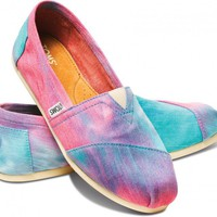 Pink and Blue Tie Dye Women&#x27;s Classics