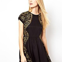 Alice McCall Golden Nugget Dress at asos.com