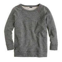 Fleece three-quarter sleeve tee - knits & tees - Women's new arrivals - J.Crew