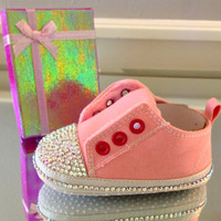 Baby Shoes/  Baby Booties/ Baby Girl Shoes/ Baby Girl Gifts/ Baby Fashion Shoes