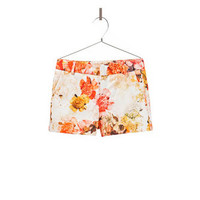 FLOWER SHORTS - Shorts - Girl - Kids - ZARA United States