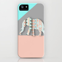 Elephant  iPhone &amp; iPod Case by Sunkissed Laughter