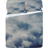 DENY Designs Home Accessories | Leah Flores Clouds 1 Sheet Set