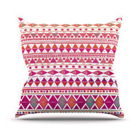 "Nika Martinez ""Summer Breeze"" Throw Pillow 