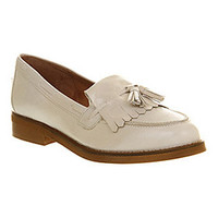 Office EXTRAVAGANZA LOAFER OFF WHITE LEATHER Shoes - Womens Flats Shoes - Office Shoes