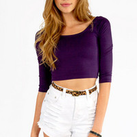Cindy Cropper Top $19