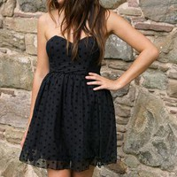 Rare Little Black Party Dress - Short Dresses from GlitzyAngel