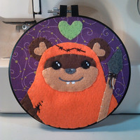 Star Wars - Ewok Love Embroidery Hoop