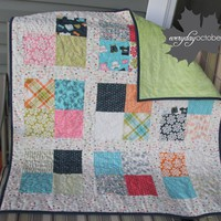 Lucy&#x27;s Crab Shack Baby Quilt from Everyday October