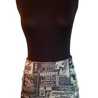 42nd STREET DENIM MINISKIRT